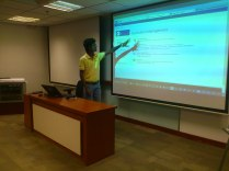 Speaking at SharePoint User Group SriLanka in September 2013